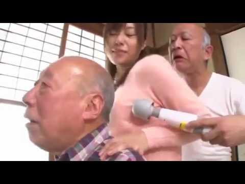Cháu gái chăm sóc tình dục cho ông nội ông ngoại